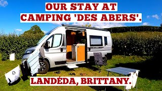 OUR STAY AT CAMPING 'DES ABERS'. LANDÉDA. BRITTANY. FRANCE ROAD TRIP 2020.