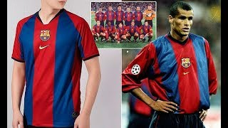 b146eb19e Barcelona set to wear 90s inspired retro shirt in El Clasico with Real  Madrid