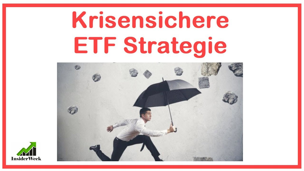 Krisensichere ETF Strategie