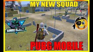 MY NEW SQUAD |PUBG MOBILE