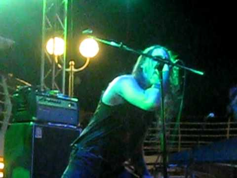 Marduk -  'Darkness Breeds Immortality' on pool stage @ 70,000 tons of metal.AVI