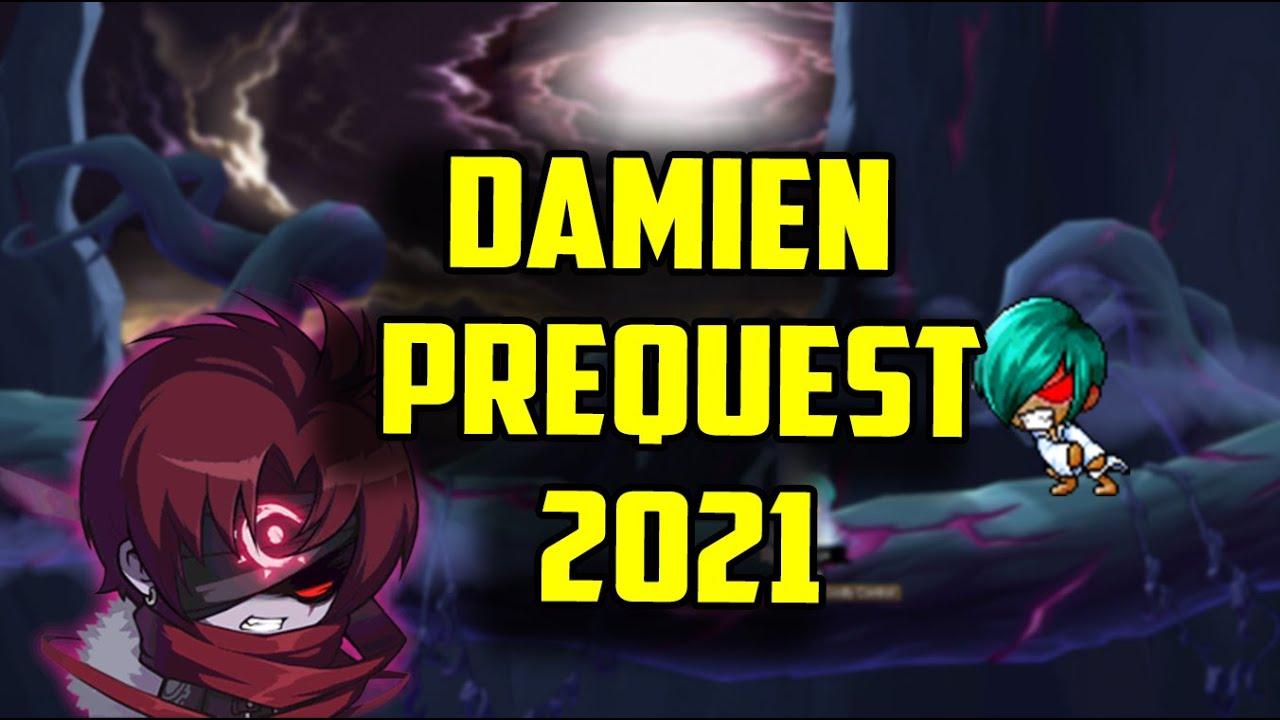 Maplestory Damien Prequest 2021