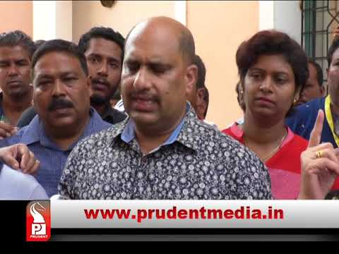 ST ANDRE & ST CRUZ VILLAGERS OPPOSE PDA, MLA SILVEIRA RESIGNS AS PDA MEMBER