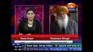 TV84 News 3/24/15 P.2 Interview with Resham S. SAD(A) on Narendra Modi's Punjab Visit
