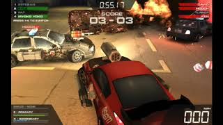 Burnin' Rubber 5 HD - Equipo Tank, Bullet350, Police, Myoko Giant vs Equipo Police