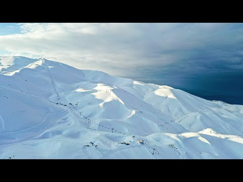 SNOW ROAD TRIP on the Mountains of LEBANON: Ski Resorts, Villages & Adventure