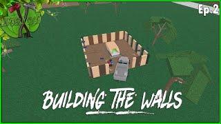 ROBLOX Lumber Tycoon 2 (um enredo desafio!) EP. 2 Building & moagem