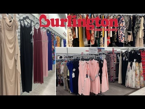 burlington-clothing-|-designer-brands-petite-plus-size-dresses-|-shop-with-me-may-2019