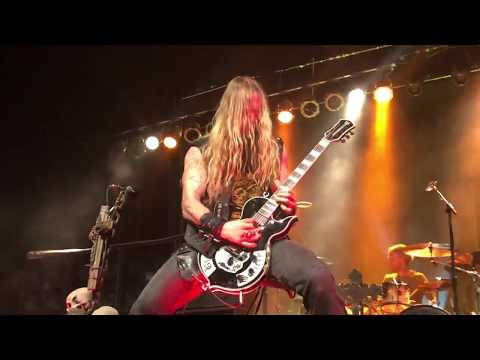 BLACK LABEL SOCIETY - Low Down - Indianapolis, IN 1/4/2018 (60 FPS)