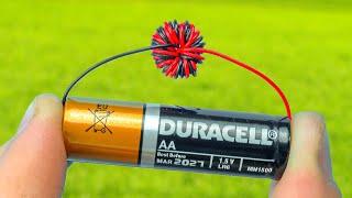오래된 배터리를 버리지 마십시오! 사용한 배터리로 3 가지 놀라운 아이디어