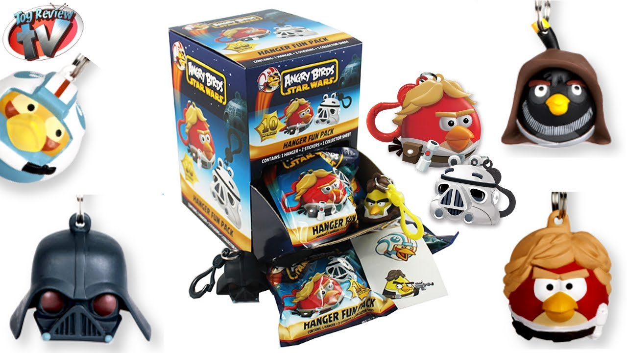 Angry Birds Star Wars 3D Hangers Figures Blind Bag Toy ...