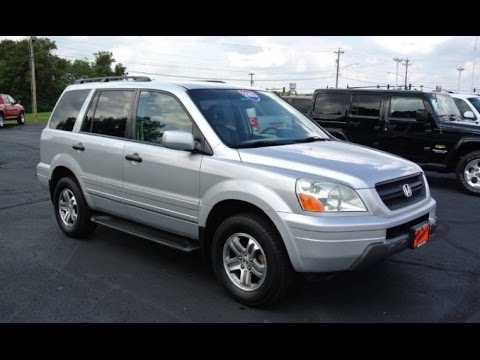 2003 Honda Pilot EX All Wheel Drive For Sale Dayton Troy Piqua Sidney Ohio | 27493CT