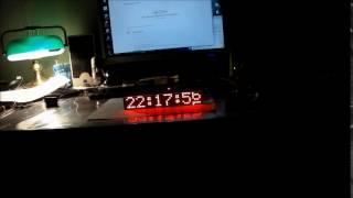 LED Matrix Clock with ESP8266
