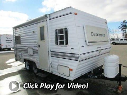 HaylettRV com - 1998 Dutchmen Classic 190 Used Travel Trailer