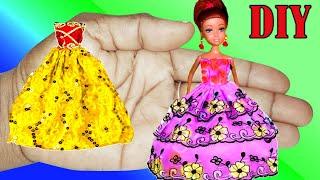 Make Awesome Barbie Clothes | Diy Barbie Crafts