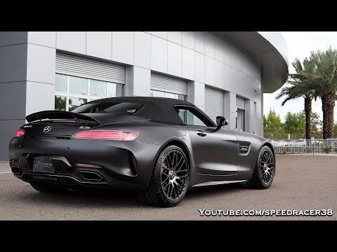 Matte Black Mercedes-Benz AMG GT C Edition 50