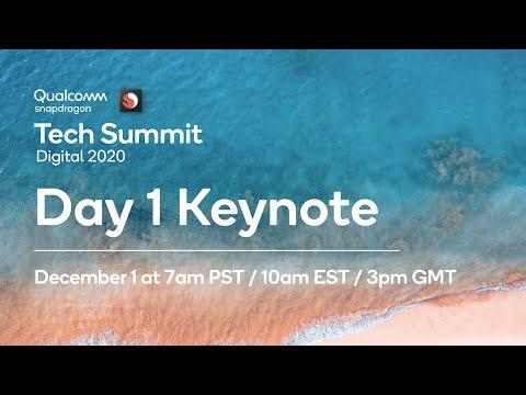 Day 1 Keynote - Qualcomm Snapdragon Tech Summit 2020