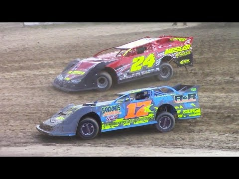 RUSH Crate Late Model Heat | Old Bradford Speedway | 7-9-17