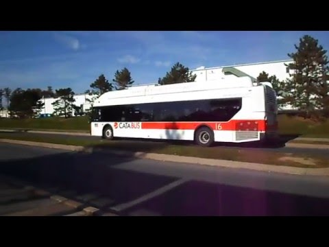 CATA Bus (State College, PA): 2012 New Flyer XN40 Xcelsior (CNG) #16 / #22 / #19