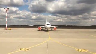 Руление и взлёт из Домодедово / Taxi and Take-Off from DMD/UUDD(Montenegro Airlines DMD(UUDD)-TIV(LYTV) (Domodedovo-Tivat), 2016-04-29T06:14:18.000Z)