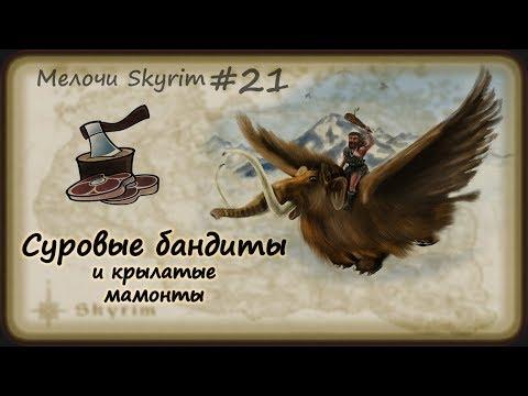 Мелочи Skyrim #21. Суровые бандиты и крылатые мамонты. thumbnail