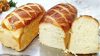 Receita de Pão Caseiro de Leite Fácil e Fofinho