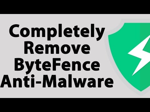 How To Completely Remove ByteFence Antimalware