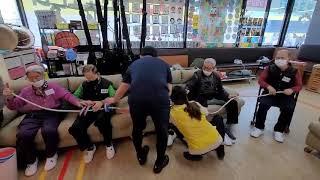 치매어르신 재활운동프로그램, 서창동 미소주간보호센터 노…