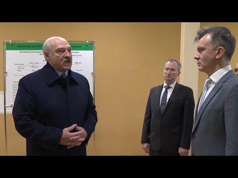Лукашенко в Шклове: Раком нас поставили по углеводородам! Импортозамещение и отношения с Россией