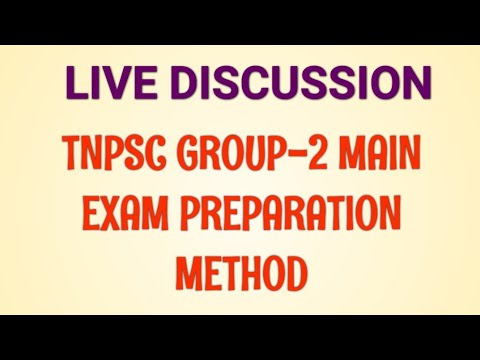 GROUP-2 MAIN EXAM SYLLABUS LIVE DISCUSSION
