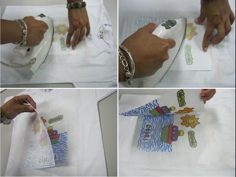 Como estampar camisetas en casa sin necesidad de maquinas for Como echar gotele sin maquina