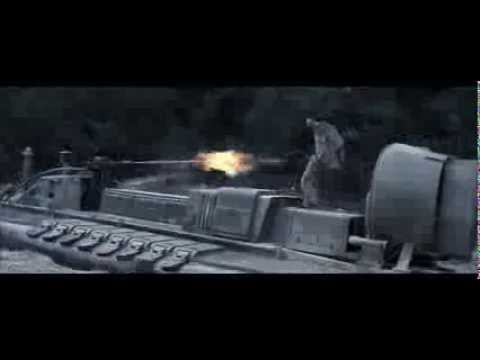Die Another Day . Hovercraft Scene . Rescore . OO7 Takes The Hovercraft