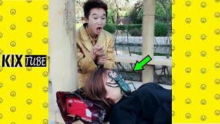 Watch keep laugh EP456 ● The funny moments 2018