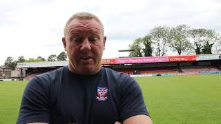 York City 0-2 Altrincham | Steve Watson Post-Match | Play-off semi-final