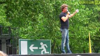 Vorprogramm auf der Bühne der BVB Meisterfeier u.a. Nena, Atze Schröder, Matze Knop