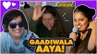 MAKING FOREIGNERS DANCE ON GADI WALA - OMEGLE FUN