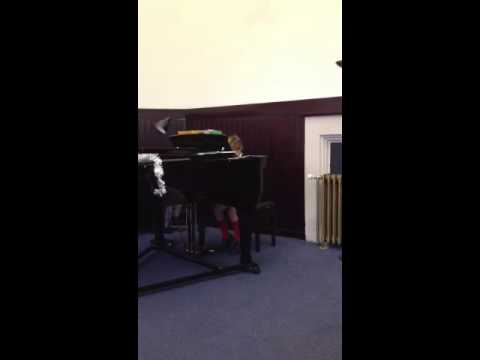 First public piano recital