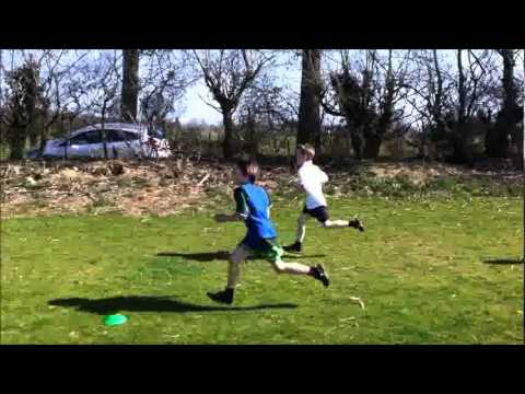 Norfolk cross-country championships 2012: Year 3 boys