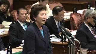 【中山恭子】~平成25年5月13日 参議院予算委員会~