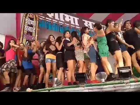 Aankh Mare Holi Me Bhauji Aankh Mare Superhit Arkesta Video 2019 Awdhesh Premi
