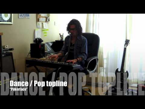 Songwriting Tuition - Part 2: The relationship between topline and bottomline writing.