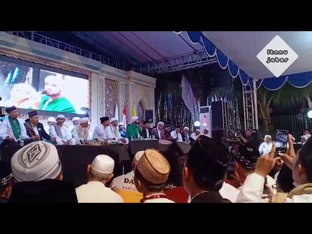 Pesan Habib Syech Di Acara Haul KH Achmad Syaichu Alhamidiyah Depok