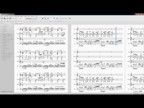 Amiga music: Flashback - Journal (MuseScore 2.0)