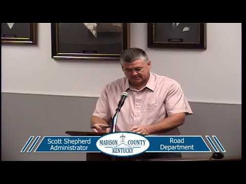 Madison County Fiscal Court - 10-09-2018