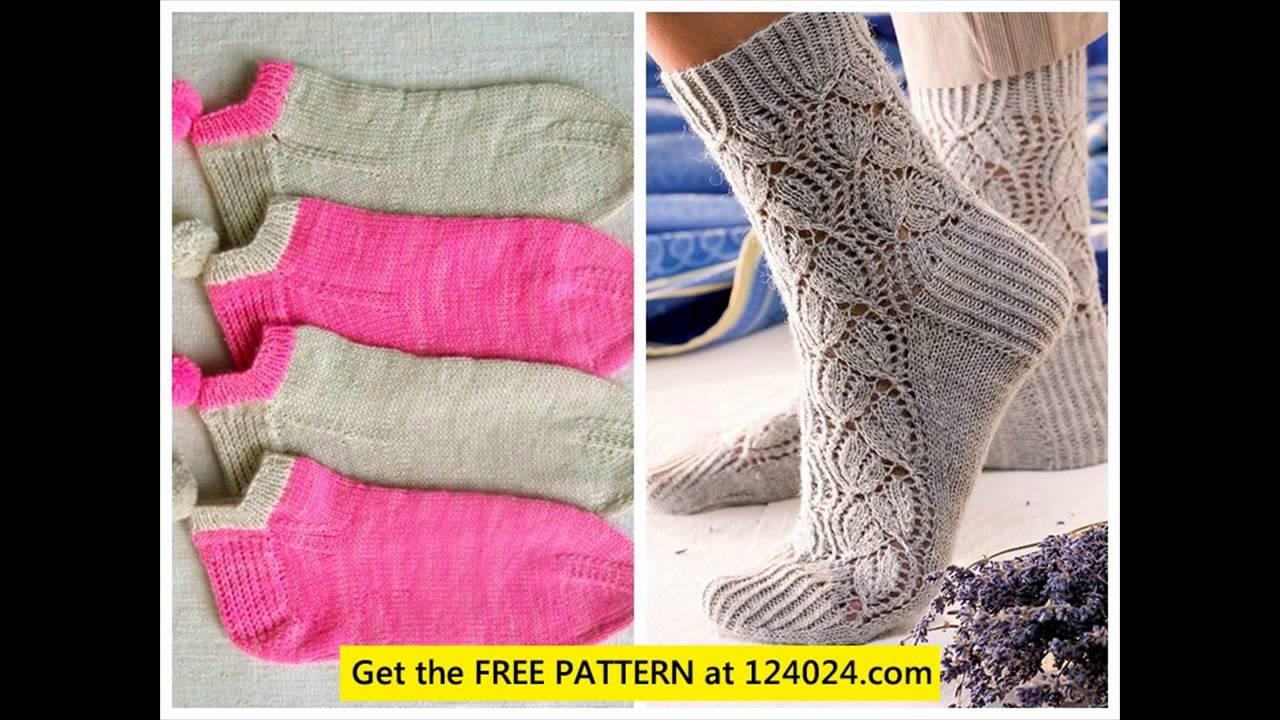 knit baby socks knit thigh high socks beginner sock knitting pattern ...