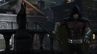 Batman:returns to Arkham-city riddle challenge robin playthrought