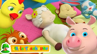 Ten in the bed | Nursery Rhymes and Baby Songs by Little Treehouse | kids tv