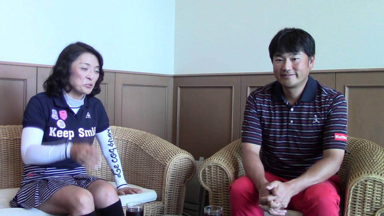 勝間和代と中井学のロジカルゴルフ 対談編 1/4