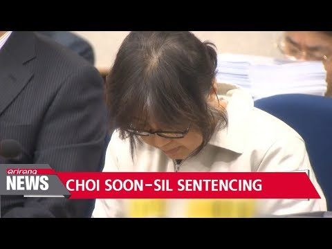 Prosecution demands 25 years jail time for disgraced fmr. President Park's confidante Choi Soon-sil