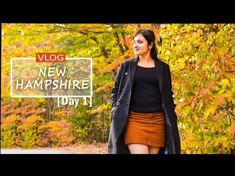 (4K )Travel Video | Trip to NEW HAMPSHIRE | Vlog 2018| USA travel video|  2 days itinerary NH(DAY 1)